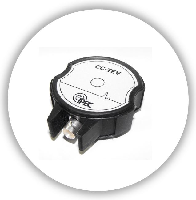 CC-TEV Capacitively Coupled TEV Sensor for metal clad Switchgear. IPEC Partial Discharge Sensor Product