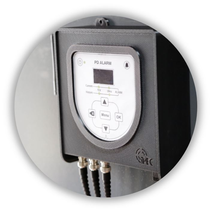 PD Alarm Permanent Monitoring for Switchgear. IPEC Partial Discharge Monitoring Products