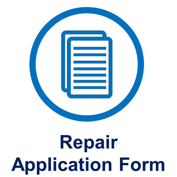 Repair Application Form