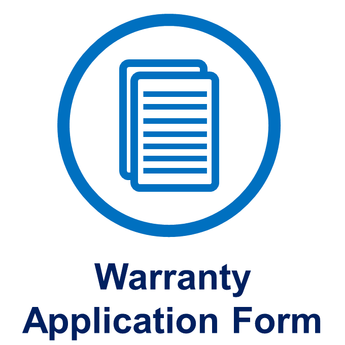 Warranty Application Form